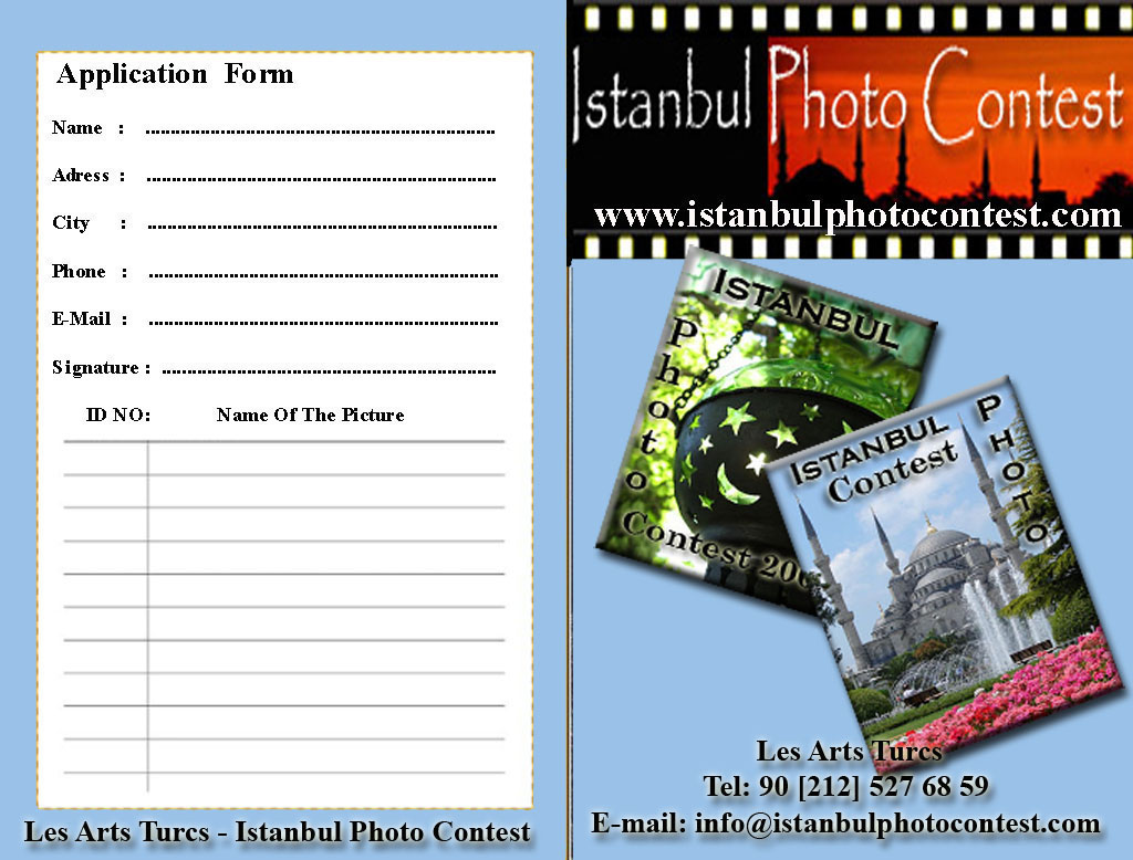 Istanbul Photo Contest, Professional Photo Contest in istanbul ...